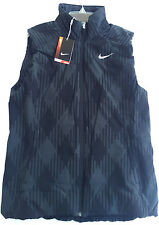 new Nike Golf Sport DWR Thermal Vest 619787-010 Zip Up Anthracite Women's L PGA
