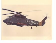 Kaman SH2F Seasprite HSL33 Navy Helicopter Photograph 8x10 Color