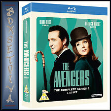 THE AVENGERS - COMPLETE SERIES 5  *BRAND NEW  BLU-RAY***