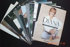Diana - The Untold Story -.A Complete Set of 12 Magazines from the daily mail