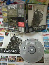 Playstation PS1:Railroad Tycoon II [TOP & 1ERE EDITION] COMPLET - Fr