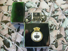 Army Military Regimental Lighter With Royal Navy HMS INVINCIBLE On Front