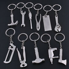Classic Wrench Model Keychain Key Chain Ring Keyring Zinc Alloy Tool Keyrings