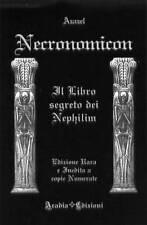 NECRONOMICON IL LIBRO SEGRETO esoterismo rituali magia lovecraft occultismo riti