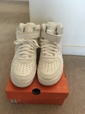 Nike Air Force 1 Mid White Size 10