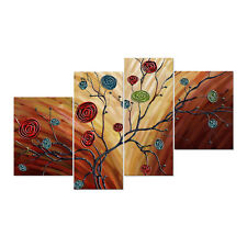 Canvas Prints Decor Wall Art Painting Picture-Abstract Multicolor Roses Unframed