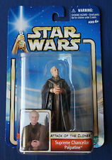 "Supreme Chancellor Palpatine / Star Wars / Saga / 3.75"" Action Figure / 2002"