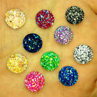 NEW 26PCS 14MM Resin Round flatback Scrapbooking crafts 2 holes Buttons Mix