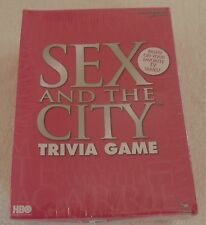 Sex And The City Adult Players Trivia Game New In The Box Sealed 2004 HBO
