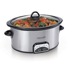 *NEW* Crock-Pot 4-qt. Programmable Slow Cooker - Digital - Removable Crock