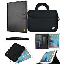 "For Apple iPad Pro 9.7"" Neoprene Sleeve & Smart Wallet Case Stand Flip Cover"