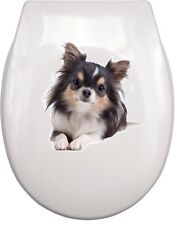 CHIHUAHUA WC Aufkleber toilet sticker C6 wasserdicht waterproof