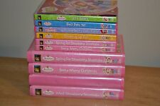 Lot of 10 Strawberry Shortcake DVDs VHS Tapes Cooking Up Fun Let's Dance