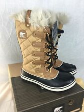 NEW SOREL TOFINO CATE WOMENS BOOTS 7 WATERPROOF INSULATED CURRY SHOES