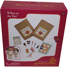 """Our Generation A Day at the Fair 21 piece Accessory Set for 18"""" Dolls"""