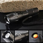 Powerful 5000Lumen 5 Modes XML T6 LED Zoomable Flashlight Torch 18650 Lamp Light