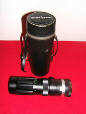 SOLIGOR 90mm - 230mm AUTO ZOOM 1:4.5 NO. 1703334 LENS WITH CASE