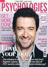 UK Psychologies Magazine October 2015 HUGH JACKMAN PHOTO COVER INTERVIEW NEW
