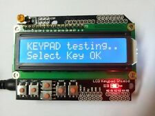 Keypad Shield for Robot Blue LCD Arduino Duemilanove UNO Mega 1602 1280 2560 R3