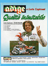 MOTOSPRINT990-PUBBLICITA'/ADVERTISING-1990- ADIGE e Loris Capirossi
