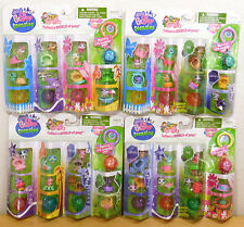 4 sets 32 pets TEENSIES Tiny Littlest Pet Shop NEW in Boxes Retired