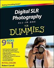 Digital SLR Photography All-in-One For Dummies Correll, Robert