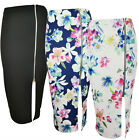 NEW WOMENS LADIES SMART BLACK FLOR WAFFLE FABRIC SIDE ZIP PENCIL SKIRT SIZE 8-14