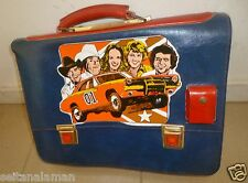 AMAZING GREEK VINTAGE DUKES OF HAZZARD SCHOOL BAG GENERAL LEE WITH LIGHTS 80s