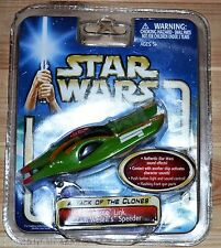 Star Wars AotC FORCE LINK Zam Wesell's Speeer  electronic new sealed