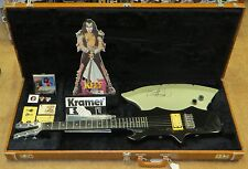 KISS GENE SIMMONS AUTOGRAPHED KRAMER AXE 6 STRING GUITAR! - ONLY 25 MADE 1980-81