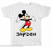 Personalized Disney Mickey Mouse T-Shirt
