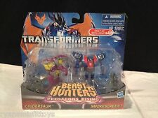 Transformers Prime Beast Hunters CINDERSAUR, SMOKESCREEN Legion 2 Pack EXCLUSIVE