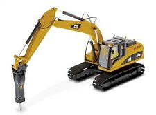 Diecast Masters Cat 320D L Hydraulic Excavator c/w Hammer 1:50 scale model 85280