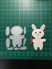 D067 Easter Rabbit  Cutting Die for Sizzix Spellbinders Etc. Machine