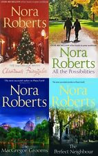 NORA ROBERTS ___ MACGREGORS 4 BOOK SET___ BRAND NEW____ FREEPOST UK