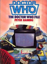 Doctor Who The Doctor Who File Softcover by Peter Haining Dr Who
