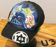 ANGRY BIRDS STAR WARS YOUTH HAT BLACK SNAPBACK IN VERY GOOD CONDITION