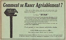 Y7376 Rasoir STAR - Pubblicità d'epoca - 1912 Old advertising