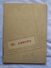 1945 HARLINGEN HIGH SCHOOL YEAR BOOK, HARLINGEN, TEXAS EL ARROYO