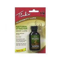Tink's Curiosity Natural Attraction Deer Hunting Lure Scent 1 oz Squeeze Bottle