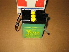 1968-71 Yamaha DT1 RT1 CT1 JT2 Yuasa Battery 6N2-2A-3 NEW Vintage NOS OEM Japan