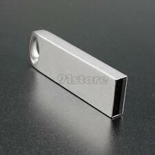 64GB Portable Mini Metal Silver USB2.0 Flash Stick Memory Drive Pen Storage SR1F