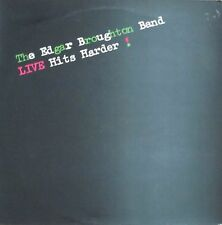 The Edgar Broughton Band - Live Hits Harder 1979 (Original Switzerland Vinyl-LP)