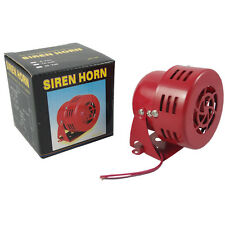 New Electric horn siren Police Fire Engine Ambulance Air Raid 12V