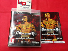 SUPREMACY MMA  PS3 PLAYSTATION 3  PAL USATO