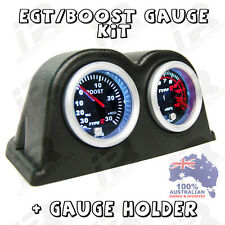 PYRO EGT EXHAUST GAS TEMPERATURE GAUGE + TURBO BOOST PSI KIT PYROMETER KIT