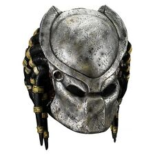 Predator Mask and Detachable Helmet Faceplate Adult Alien Costume Halloween
