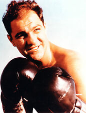 "Boxing ROCKY MARCIANO Glossy 8"" x 10"" Full Color Portrait Photo"