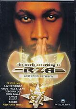 RZA (Wu Tang Clan) - The World According To RZA (Live From Germany) DVD - NEU