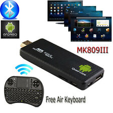 MK809III Quad Core Mini 8G Android PC Smart TV Box XBMC Stick+Wireless Air Mouse